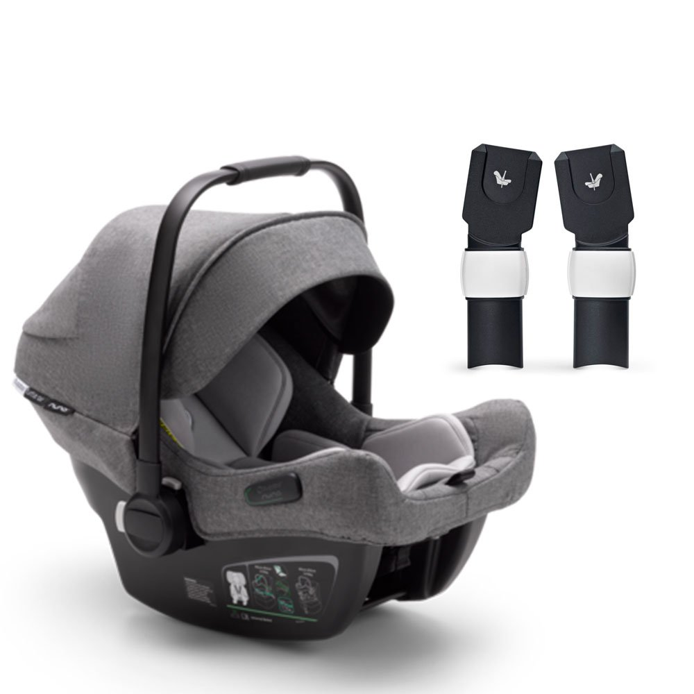 Bugaboo Turtle Air by Nuna для Fox/Lynx автокресло+ адаптер Grey 0+