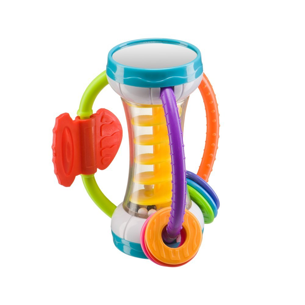 """Купить со скидкой Happy baby игрушка-погремушка """"spiralium"""""""