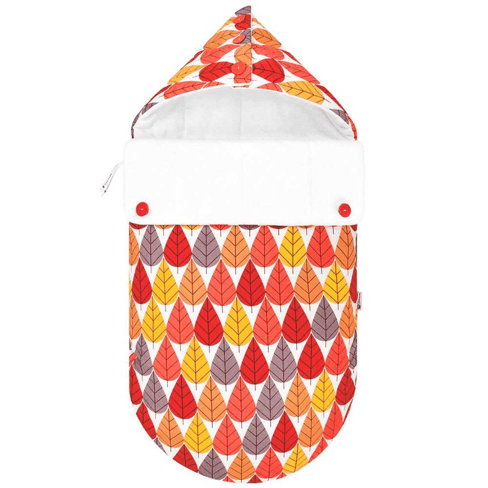MIKKIMAMA Конверт для новорожденного Листопад (зимний) (МИККИМАМА)