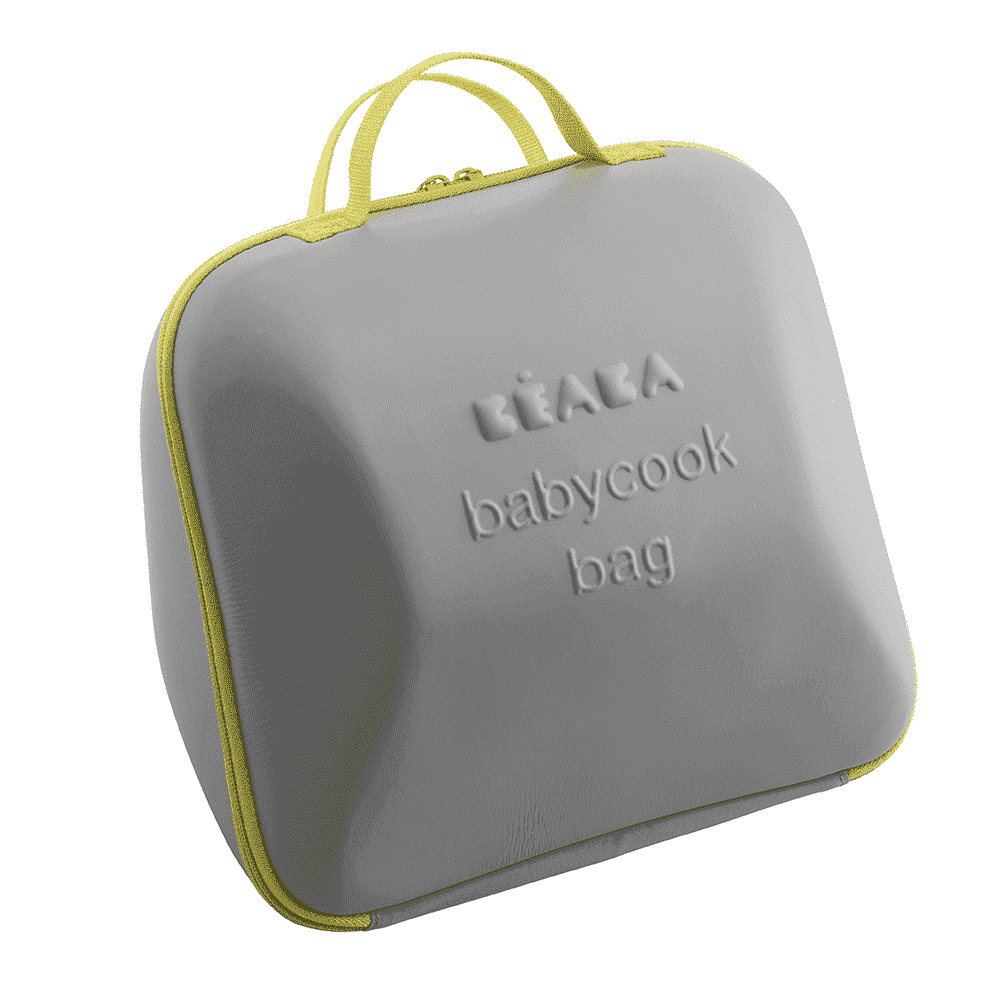 BEABA сумка для блендера-пароварки BABYCOOK GREY/YELLOW