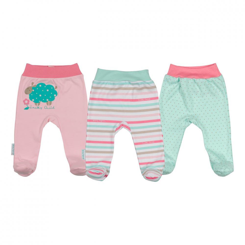 LUCKY CHILD комплект детский: ползунки 3 шт. (размер 18 (56-62)) 30-144/3шт