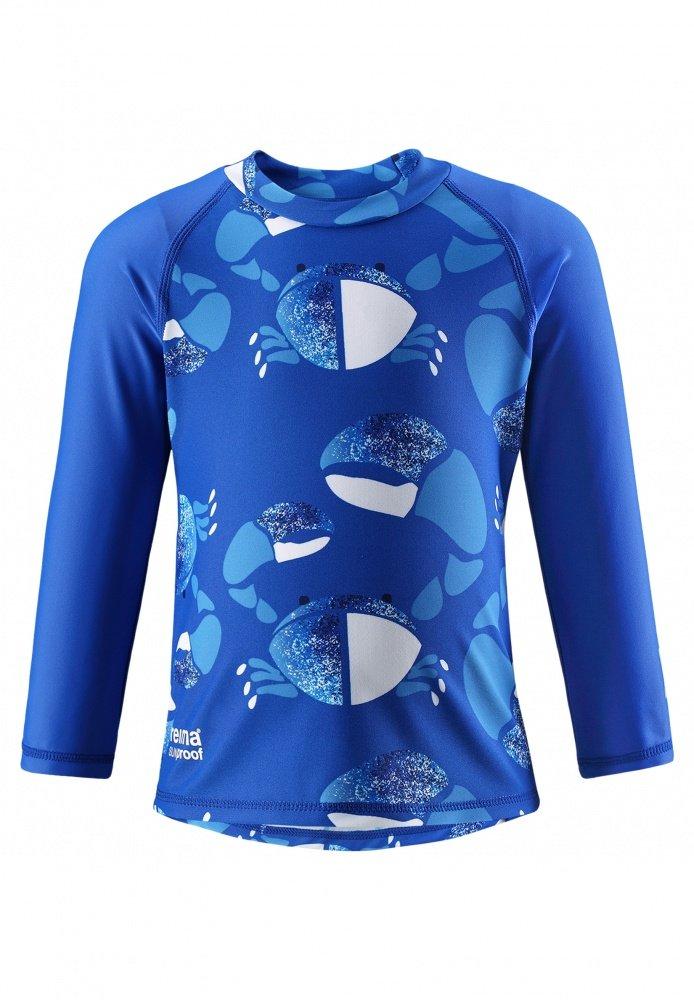 Купить Одежда для пляжа, REIMA Солнцезащитная футболка для купания BORNEO синяя р.92