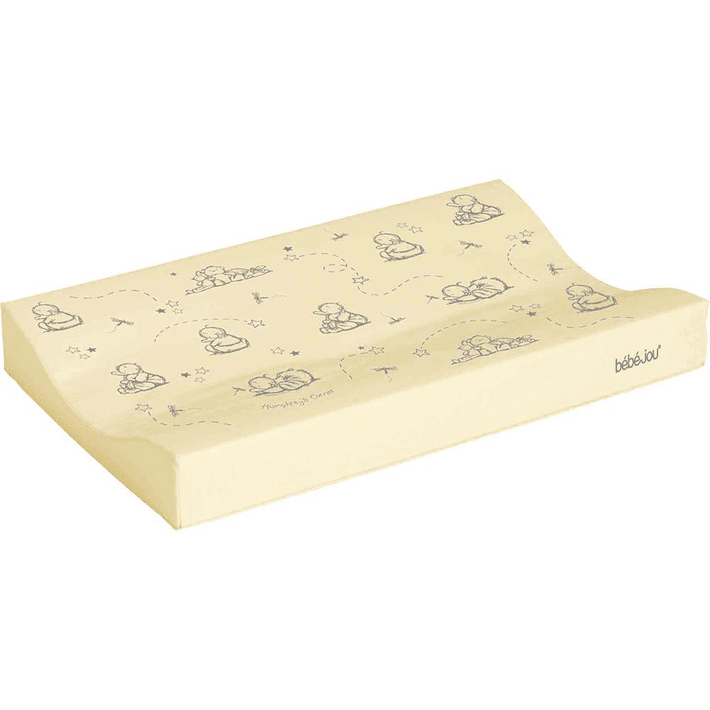 BEBE JOU матрасик для пеленания 72*44 лимон нежный