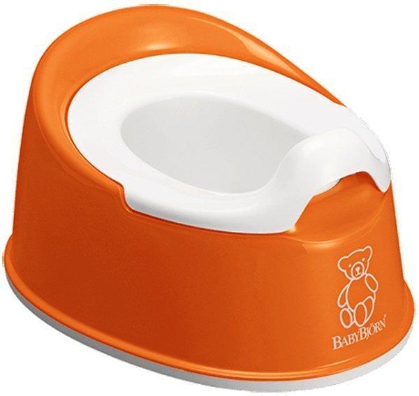 BABYBJORN горшок детский SMART оранжевый