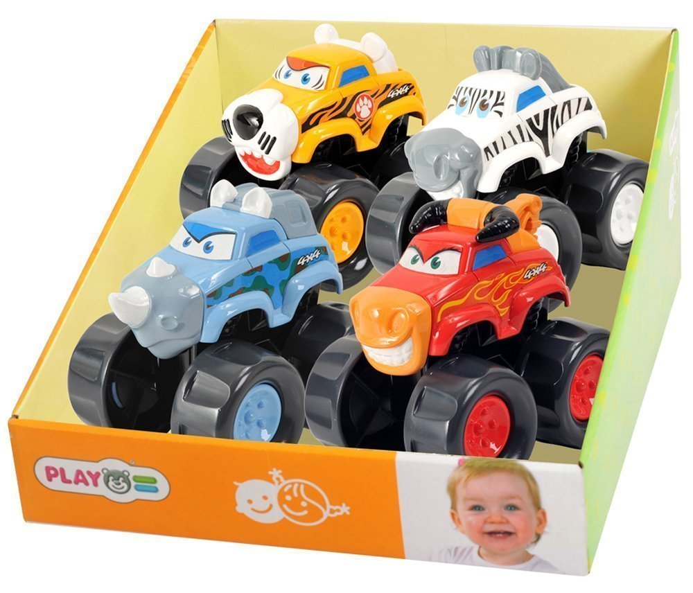 "PLAY GO развивающая игрушка ""Машинка-бык"""
