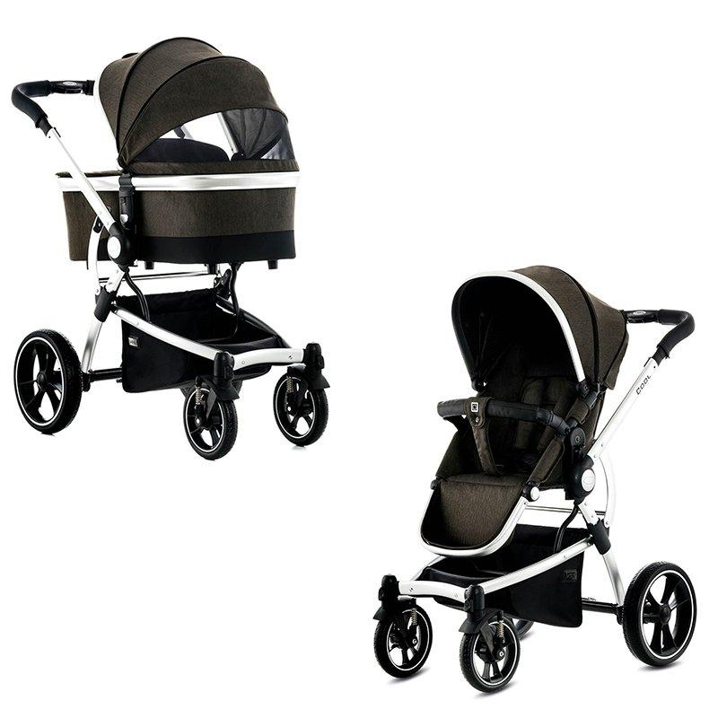 Коляски для новорожденных MOON коляски 2 в 1 smile line platinum 2 в 1