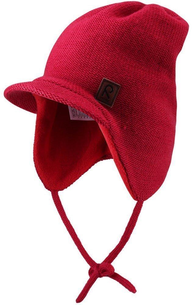 REIMA KIDS шапка шерстяная Baham красная р.46 518234-3830-046