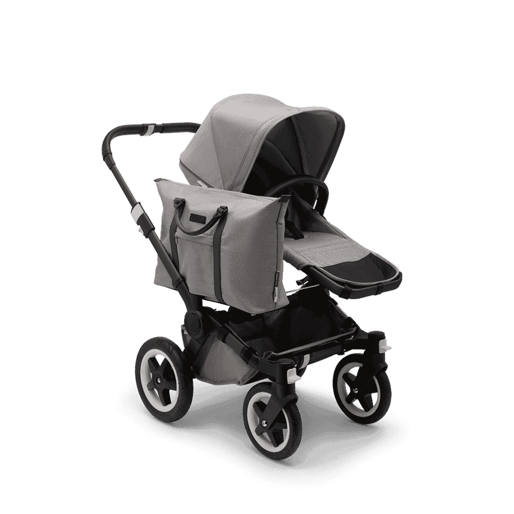 Bugaboo Donkey2 Коляска 2 в 1 Mono Mineral LIGHT GREY / BLACK
