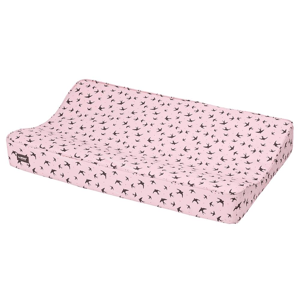 LUMA матрасик пеленальный 72*44 см розовый нежный 80111