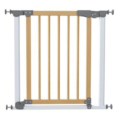 SAFE&CARE ворота на распорках СОСНА черный (т.серый) 77-83.5см 340-03