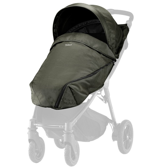 Britax Капор и накидка Olive Denim для коляски B-Agile/ B-Motion 4 Plus