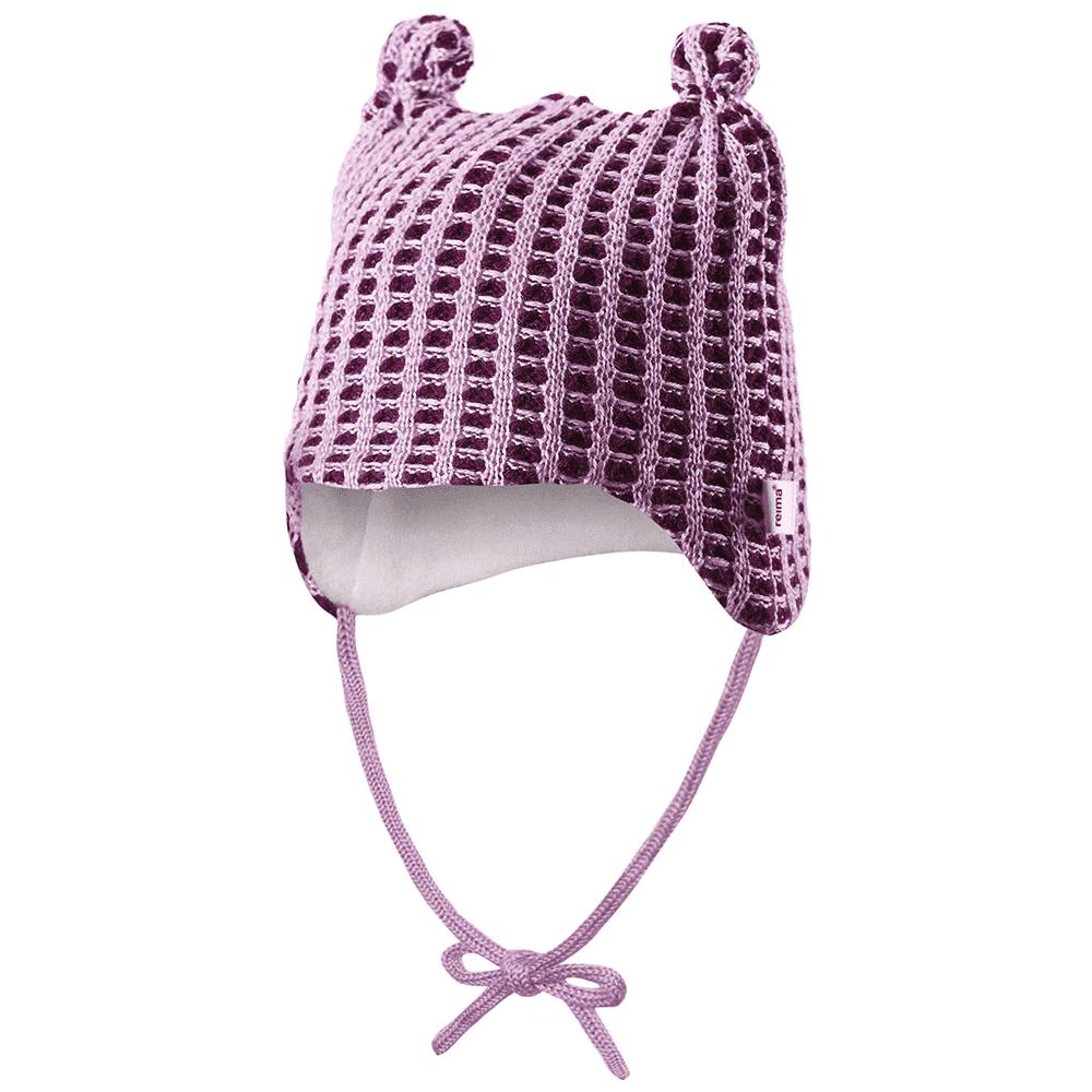 Купить Шапки, варежки, перчатки, REIMA BABY шапка шерстяная Torkku вишневая р.44/46