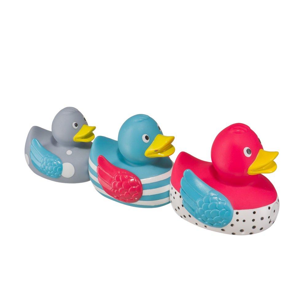 """HAPPY BABY Набор ПВХ-игрушек для ванной """"FUNNY DUCKS"""""""