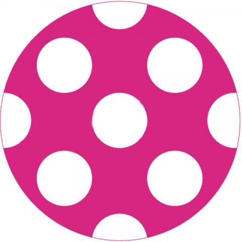 CityGrips Чехлы на ручки для коляски-трости  Polka-dot pink