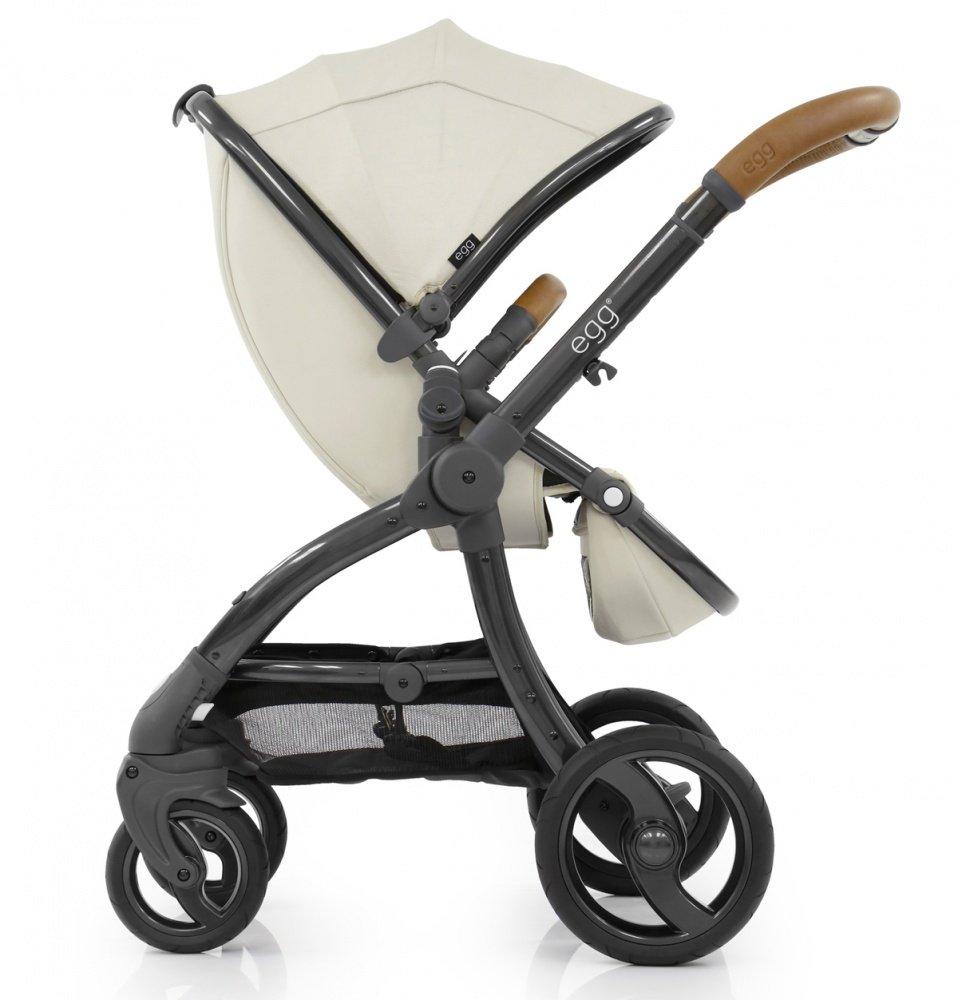 Купить Коляски для новорожденных, EGG Коляска 2 в 1 Jurassic Cream & Gun Metal Chassis
