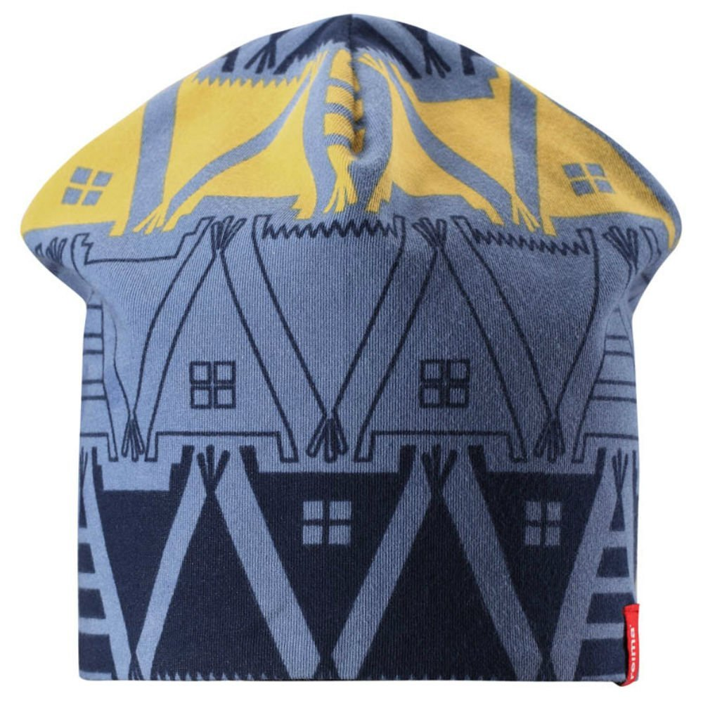 Фото #1: Reima шапка двухсторонняя hirvi синяя р.54/56