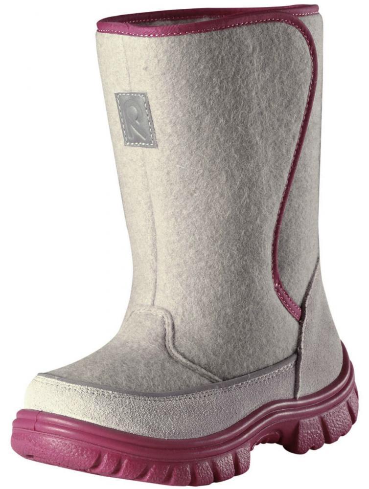 Купить Обувь, носки, пинетки, REIMA сапоги зимние SIBERIA серые с розовым р.27