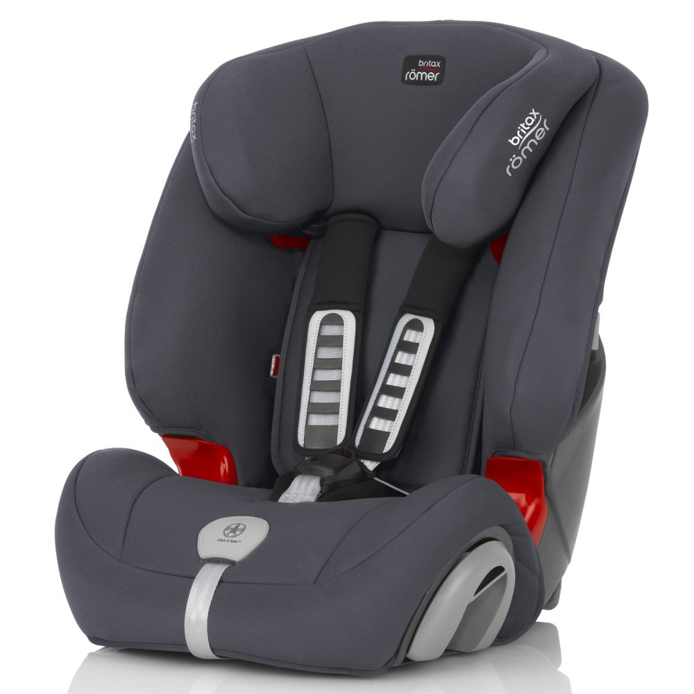 Britax Roemer автокресло Evolva Plus Storm Grey (Группа 1/2/3)