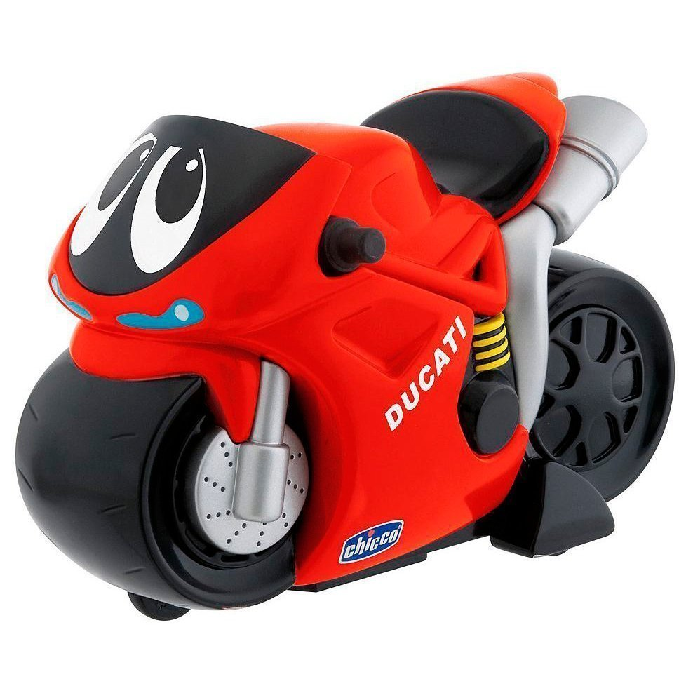 "CHICCO Игрушка развивающая ""Турбо-мотоцикл Ducati 1198 r/c"" 2г+"