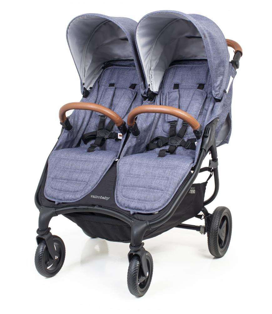 Valco baby коляска  snap duo trend/denim