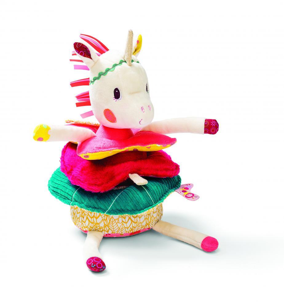 LILLIPUTIENS единорожка Луиза: игрушка-пирамидка