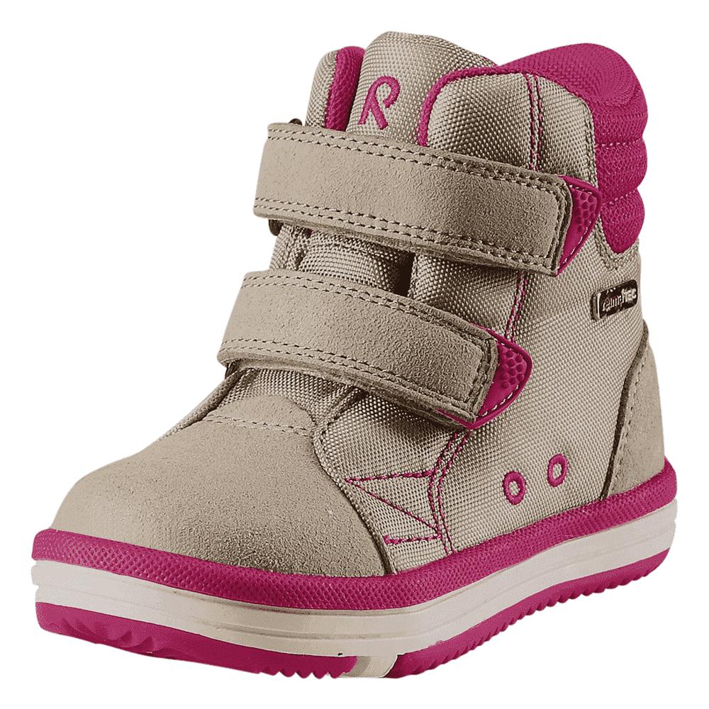 Купить Обувь, носки, пинетки, REIMA кеды Patter Reimatec® бежевые с розовым р.27