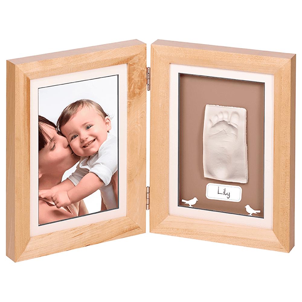 "BABY ART рамочка двойная серии ""Классика""; дерево"
