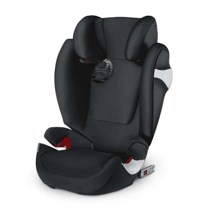 CYBEX Автокресло Solution M-Fix Lavastone Black гр. 2/3 ( 15-36 кг)