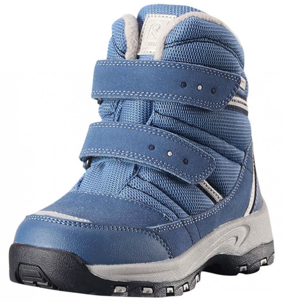 Купить Обувь, носки, пинетки, REIMA ботинки зимние водонепроницаемые VISBY Reimatec синие р.30