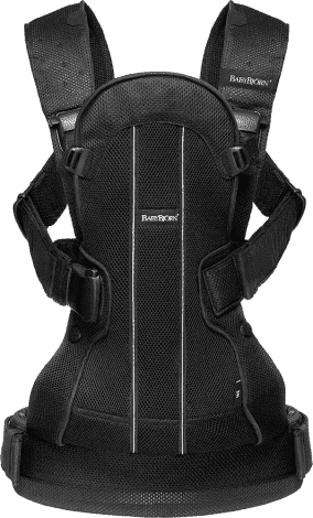 BABYBJORN рюкзак для переноски ребенка WE Air черный 0920.02