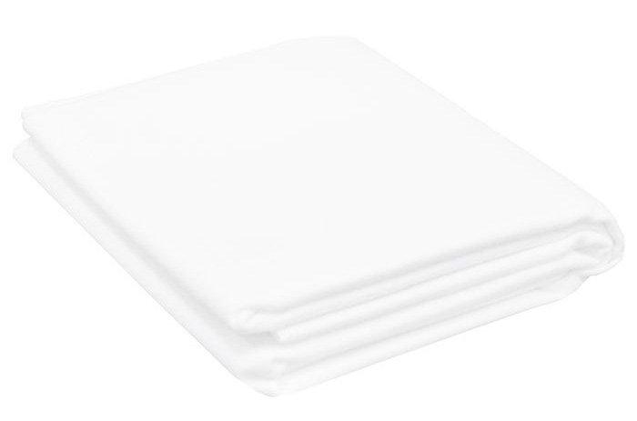 Купить со скидкой Hippychick простынка непромокаемая двухсторонняя 100х150 см  (белая)