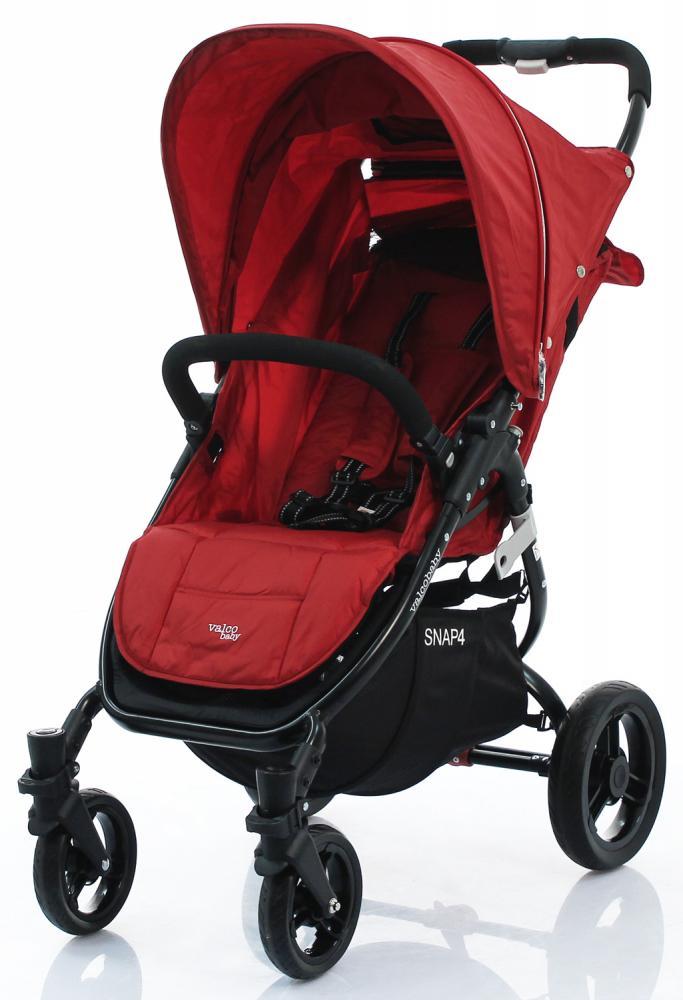 Купить Прогулочные коляски, VALCO BABY Коляска прогулочная SNAP 4/ Carmine red черное шасси
