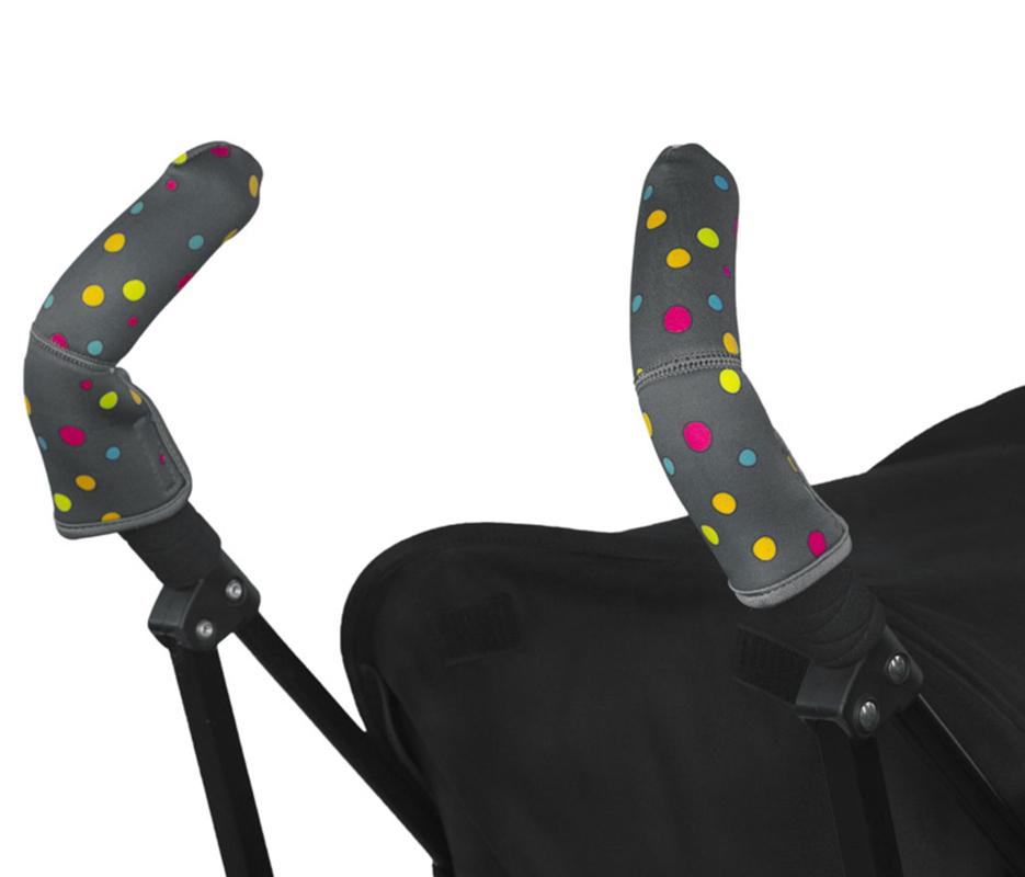 CityGrips Чехлы на ручки для коляски-трости Broadway Dots - купить по приемлемым ценам в Москве в интернет магазине Олант