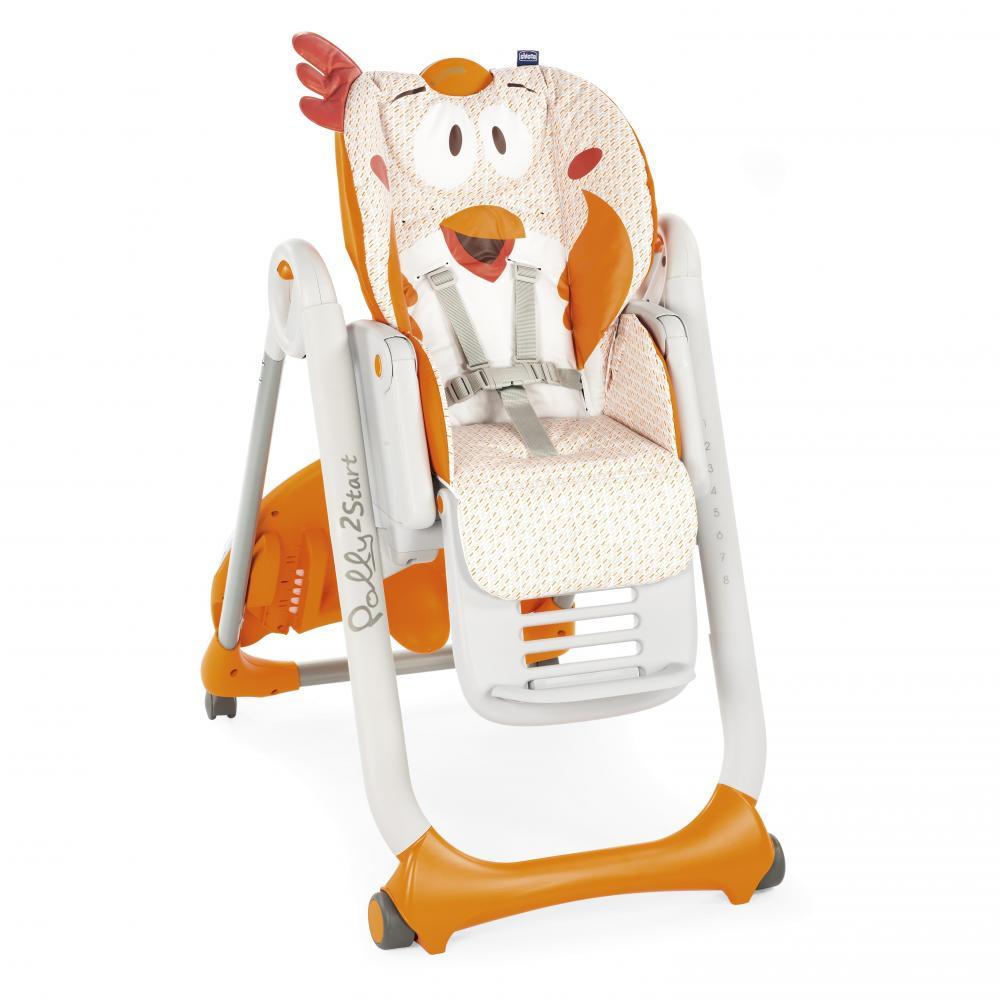 Стульчики для кормления CHICCO Chicco Polly 2 Start высокий стул для кормления chicco polly happy land