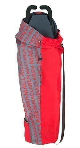 MACLAREN сумка для переноски коляски Maclaren Lightweigt Storage Charcoal/Scarlet