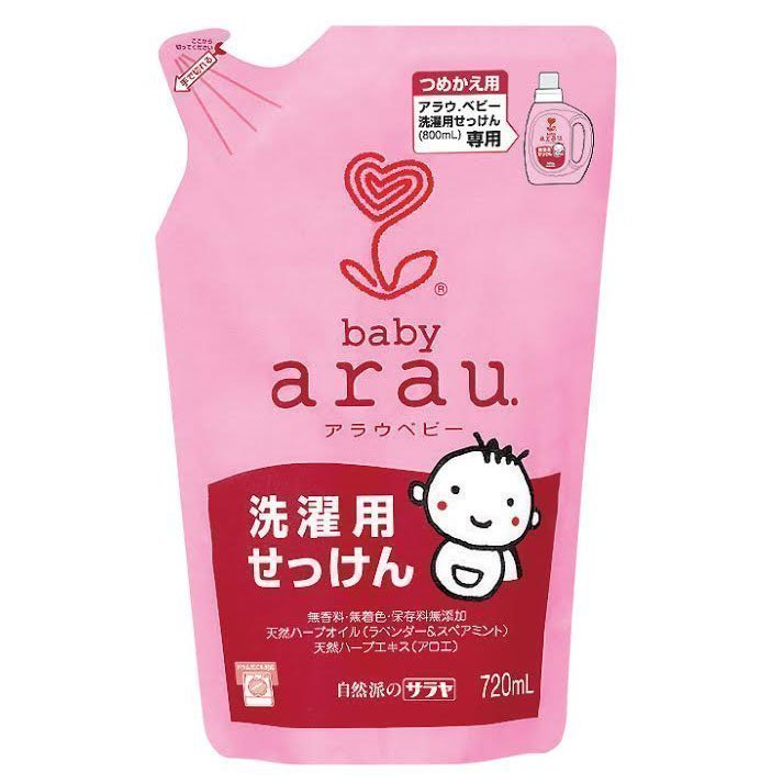 ARAU BABY Жидкость для стирки детской одежды 720 мл (наполнитель) 56524