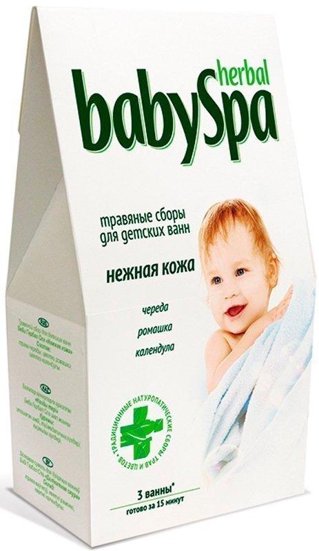 BABY SPA травяной сбор Нежная кожа