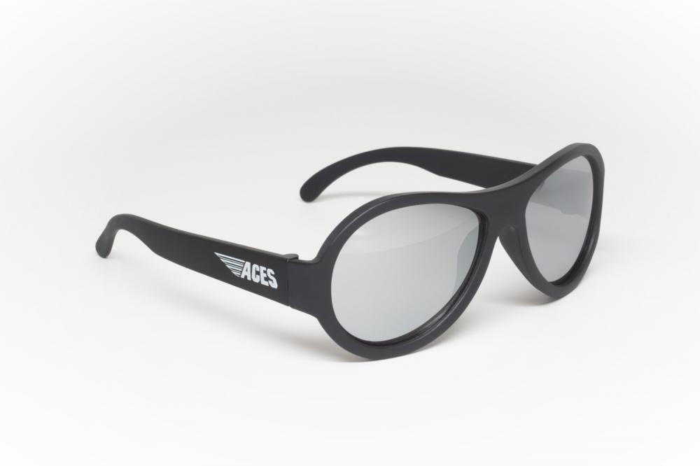 Купить Солнцезащитные шторки, накидки, очки, BABIATORS очки солнцезащитные Aces Aviator (6+) Спецназ (Black Ops). чёрный, зеркальные линзы