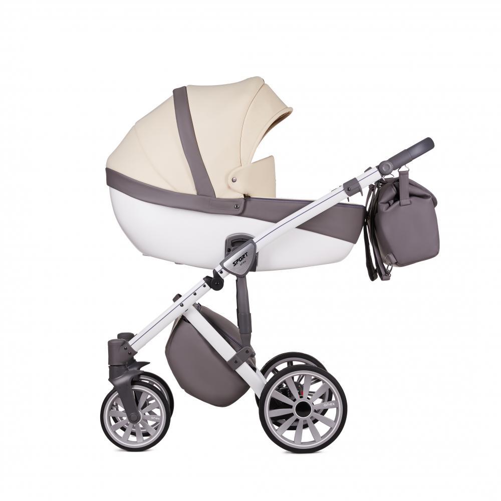 Купить Коляски для новорожденных, ANEX Коляска 3 в 1 SPORT Q1 (Sp19) warm sand