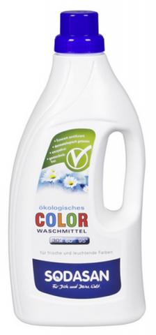 SODASAN Жидкое средство для стирки изделий из цветных тканей, 1.5 л