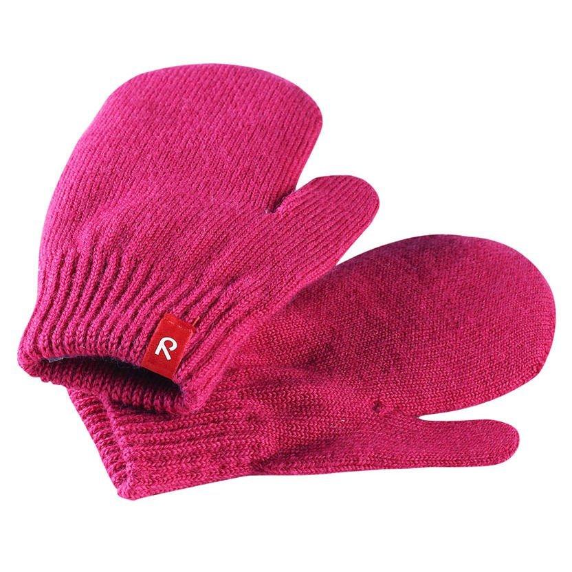 Купить Шапки, варежки, перчатки, REIMA варежки шерстяные STIG розовые р.6-10лет