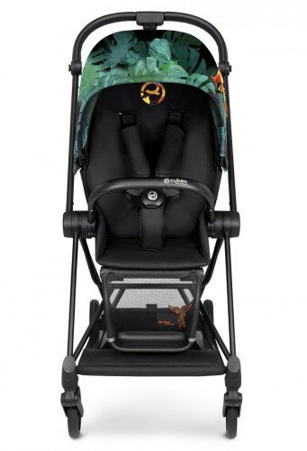Cybex Коляска 2 в 1 Priam Birds of Paradise на шасси Matt Black с колесами All Terrain
