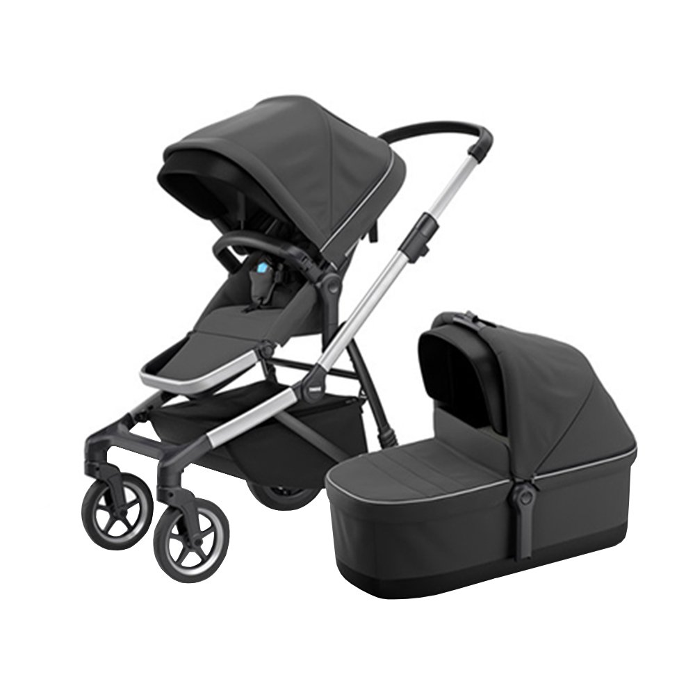 Thule Коляска 2 в 1 Sleek Charcoal Grey