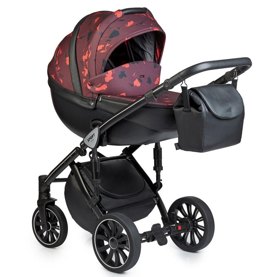 Купить Коляски для новорожденных, ANEX SPORT Коляска 3 в 1 Q1 (Ab02) arch R