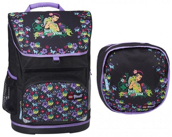 LEGO набор рюкзак-ранец+сумка для обуви Lego Friends 15025