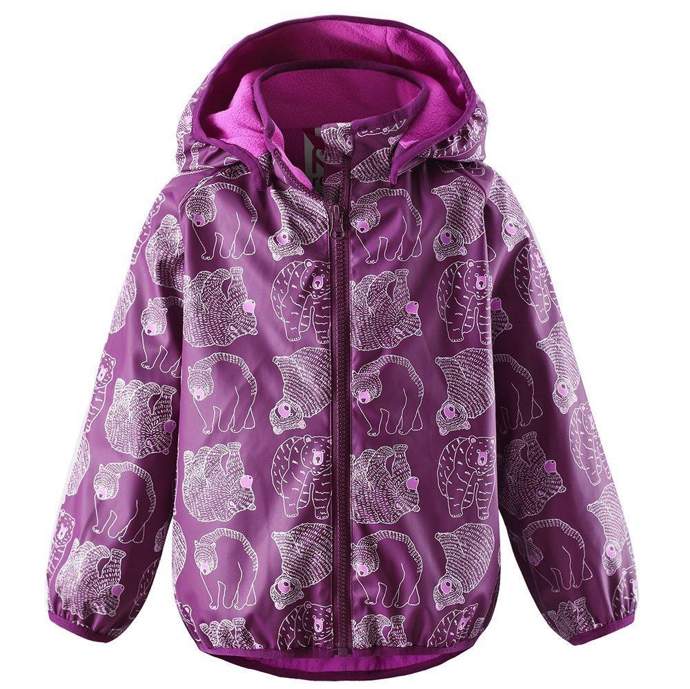 REIMA куртка-дождевик Koski розовая р.86