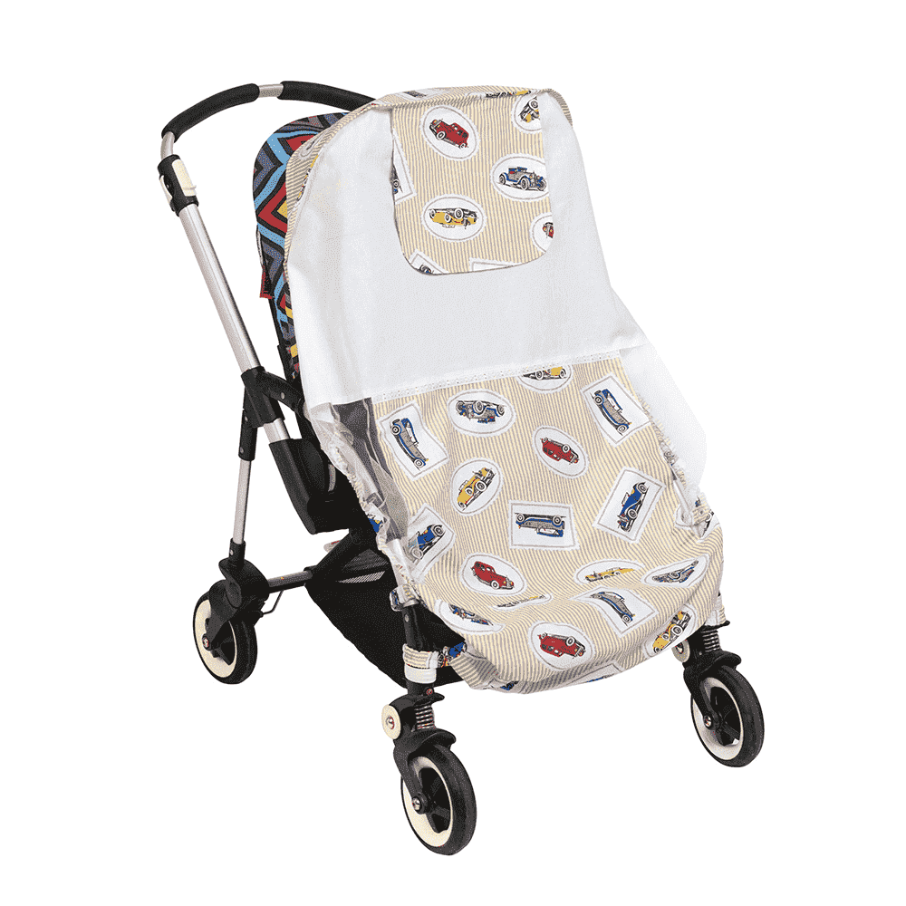 MAMMIE  Хлопковый матрасик в коляску и автокресло -машинки