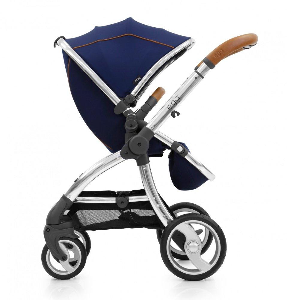 Купить со скидкой Egg прогулочная коляска regal navy & mirror chassis