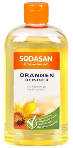 SODASAN Универсальное моющее средство с апельсином, 0,5л