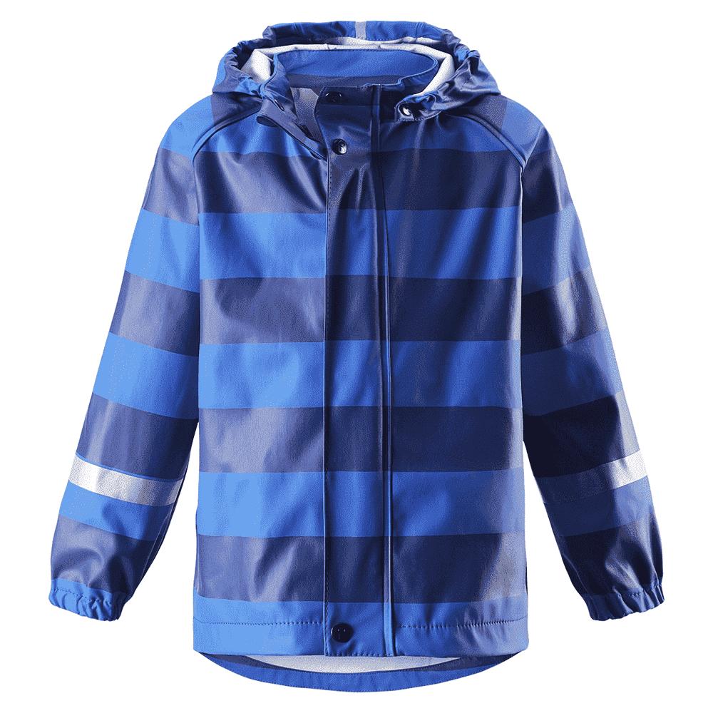 Купить со скидкой REIMA куртка для дождливой погоды Vesi синяя в полоску р.104